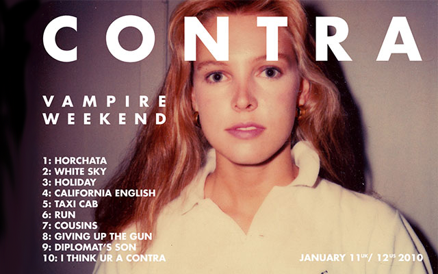Vampire Weekend — Contra. With the release of their second studio album,