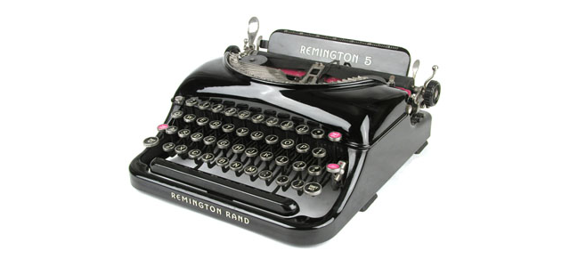 Remington Rand Typewriter circa 1935